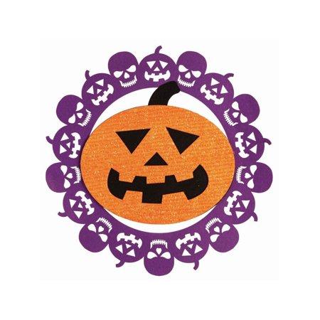 Pumpkin Felt Decoration