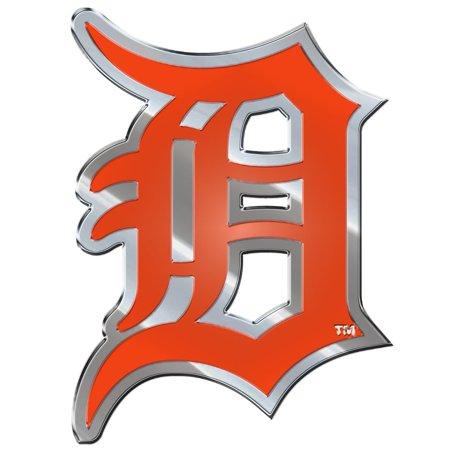 MLB Detroit Tigers Color Emblem Detroit Tigers Family Decal
