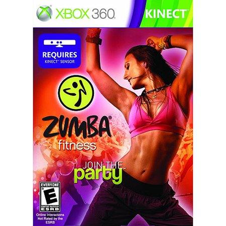 Zumba Fitness - Kinect - Xbox 360 (Best Kinect Fitness Games)