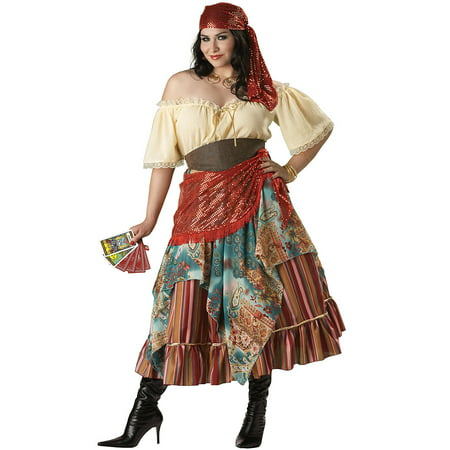 Fortune Teller Adult Halloween Costume - One Size 20-22