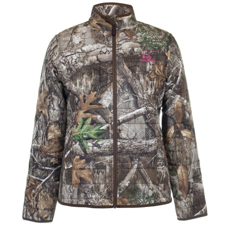 Realtree Womens Insulated Jacket Realtree Edge Size