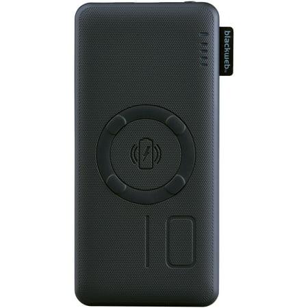 Blackweb Fast Charge Wireless Portable Battery 10 000 Mah