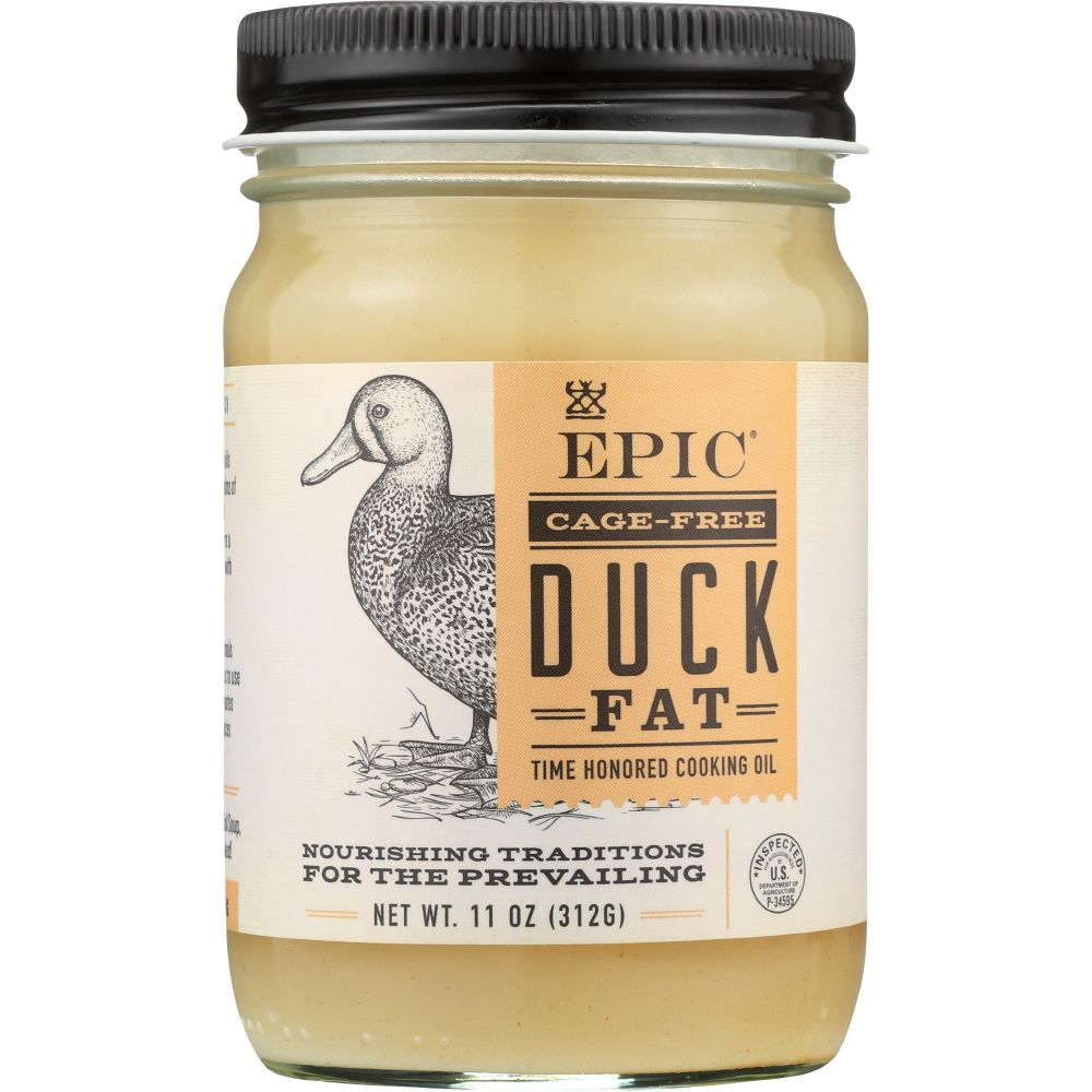 Epic Duck Fat Animal Oil, 11 Oz (Pack Of 6) by