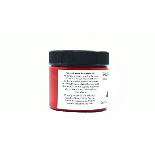 cb6bce6c019 Walk On Red Bottom Coat & Restorer Angelus Brand Acrylic Leather Paint for  Christian Louboutin Heels Only Contents: (2 fl. oz / 60 ml)