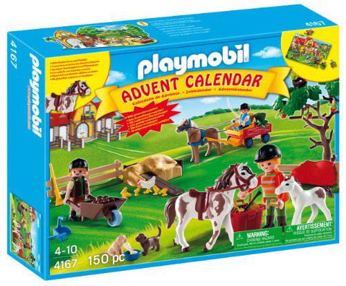 PLAYMOBIL Advent Calendar Pony Farm with Great Additional...