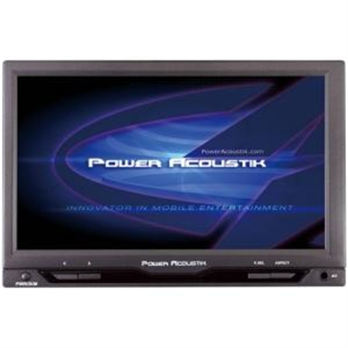 """Power Acoustik 7"""" Active Matrix TFT LCD Car Display - Black PT-712IRA"""