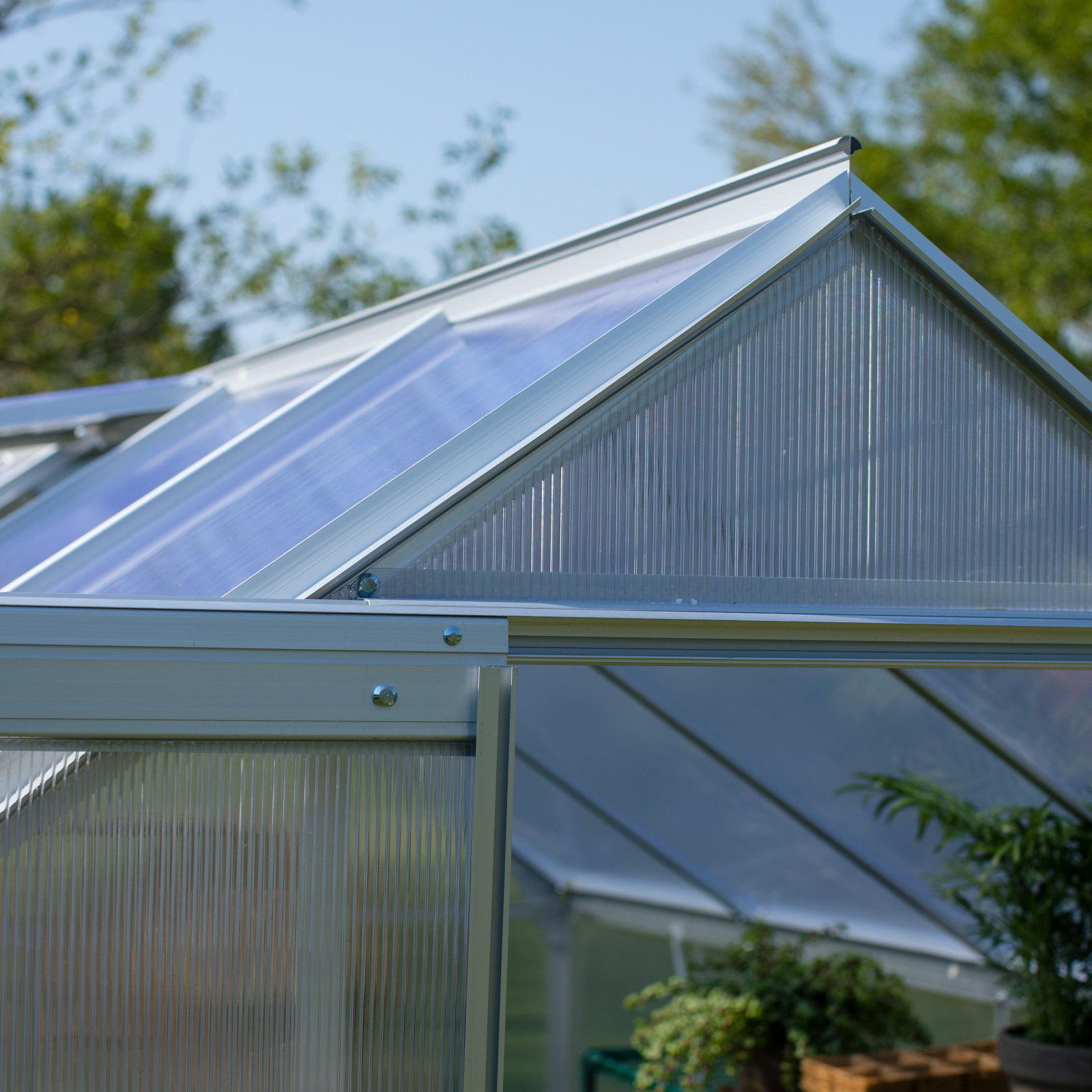 Belham Living Covina 6 x 8 ft. Polycarbonate Greenhouse - Walmart.com