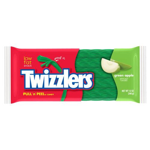 Twizzler Pull 'N' Peel Green Apple Licorice, 12 oz