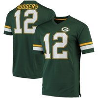 Men's Fanatics Branded Aaron Rodgers Green/Gold Green Bay Packers Game Great Jersey