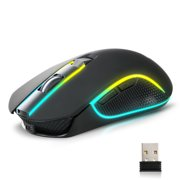 TSV X9 1600DPI RGB LED Wireless Gaming Mouse Mice & USB Receiver 6 Button For Laptop PC