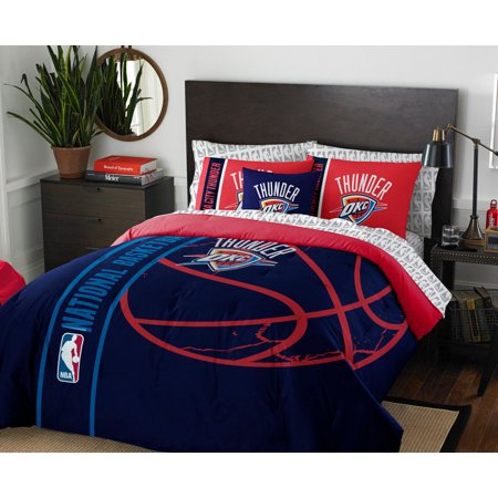 Oklahoma City Thunder Twin Comforter  Sheets   Sham  5 Piece Bed In A Bag