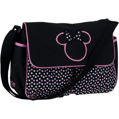 Disney Minnie Mouse Diaper Bag, Multi-Dots