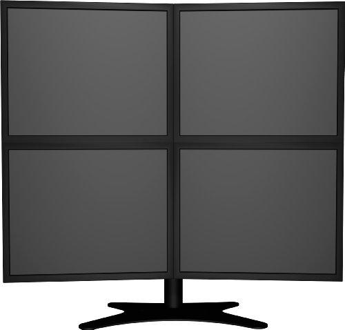 DoubleSight Displays Quad Flex Display Stand - DS-424TA