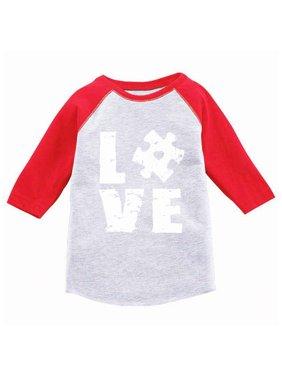 be9ca734da Product Image Awkward Styles Autism Awareness Puzzle Raglan Shirts Autism  Awareness Baseball Jersey Shirts for Kids Autism 3