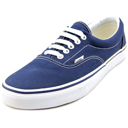 Vans - Vans Era Men Round Toe Canvas Blue Sneakers - Walmart.com e6f4a589a