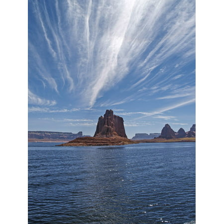 Canvas Print Tourist Attraction Outdoor USA Arizona Lake Powell Stretched Canvas 10 x 14 - Arizona Halloween Attractions