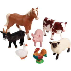 Learning Resources Jumbo Farm Animals by LEARNING RESOURCES