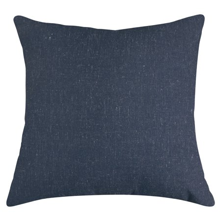 Majestic Home Goods Indoor Navy Wales Large Decorative Throw Pillow 20 in L x 8 in W x 20 in H