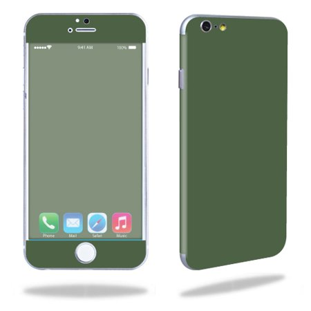 Skin Decal Wrap for Apple iPhone 6/6S stickers Solid Olive