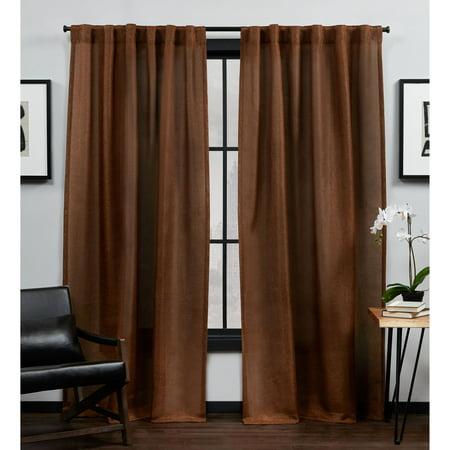 MoDRN Industrial Basketweave Curtain Pair Now $15 (Was $48.75)