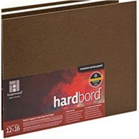 Ampersand HB08 Hardbord Panel, 8 X 10 In.