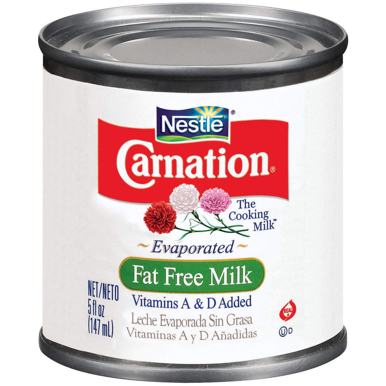 CARNATION Fat Free Evaporated Milk 5 fl. oz. Can