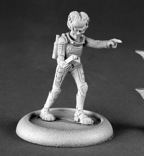 Reaper Miniatures Alien Overlord With Tracker #50144 Chronoscope RPG Mini Figure
