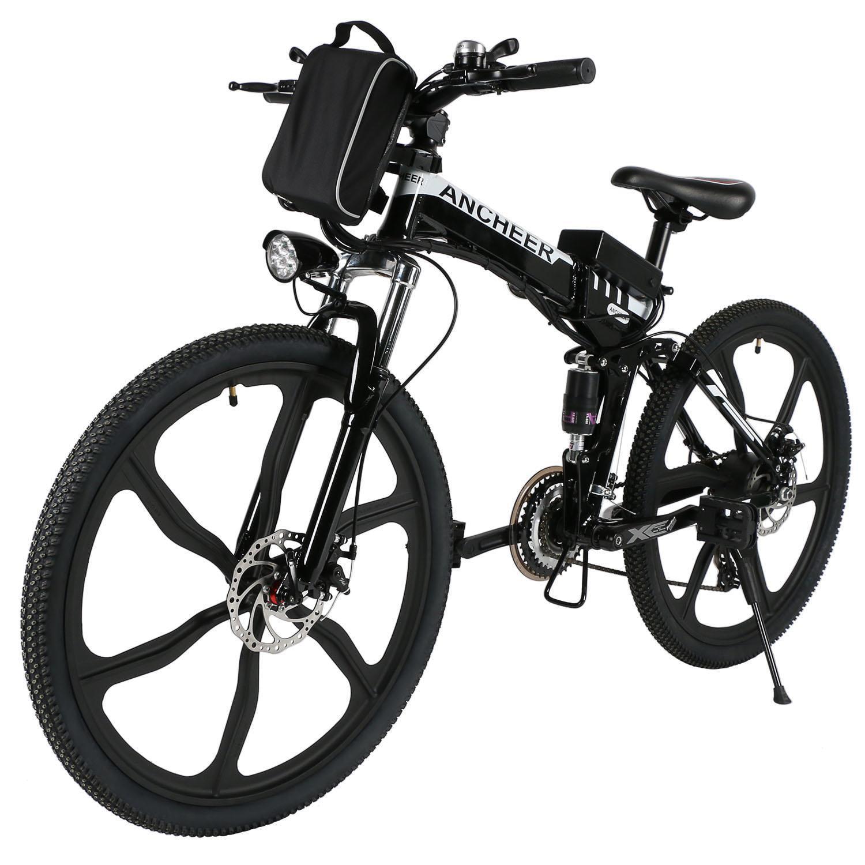Electric Bike Mountain Road Bike Men's Bike Power Plus with Lithium-Ion Battery