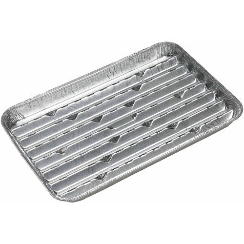 "Onward Grill Pro 9.5"" X 1.5"" X 11"" Aluminum Grilling Trays 3 Count"