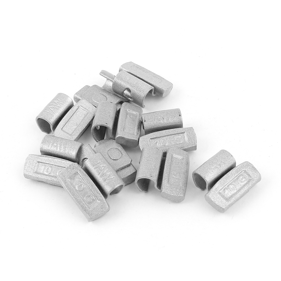 10 Pcs 10g Clip Tyre Wheel Balance Weights for Car Alloy Rim
