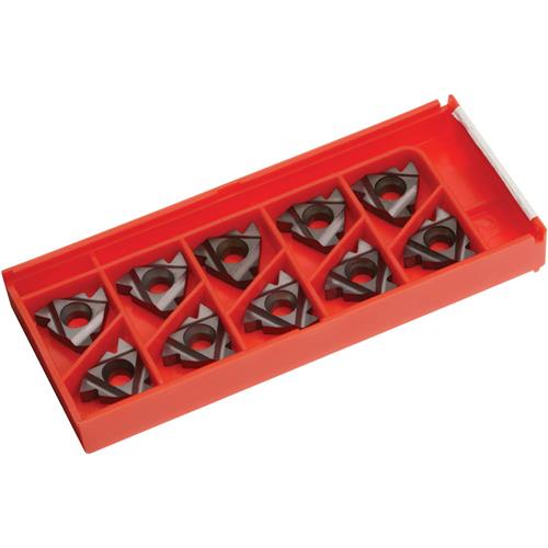 Grizzly H8351 Carbide Inserts 16 IR G 60 for Stainless, Aluminum, Cast-Iron, pk. of 10