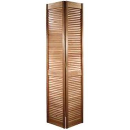 Masonite 801075 Louvered Bifold Door 24 Inch X 80 Inch Wood