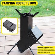 Best Rocket Stove Water Heaters - Camping Rocket Stove with Handle, Collapsible Wood Burning Review