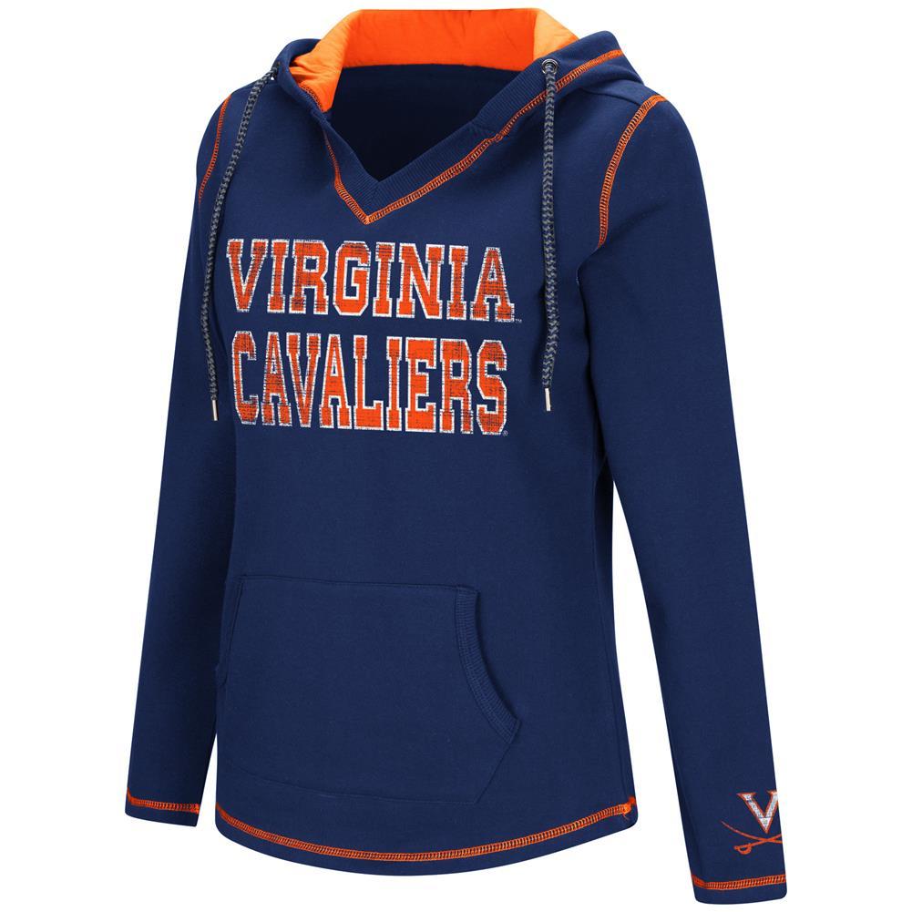Colosseum Spike University of Virginia Cavaliers Fleece Hoodie