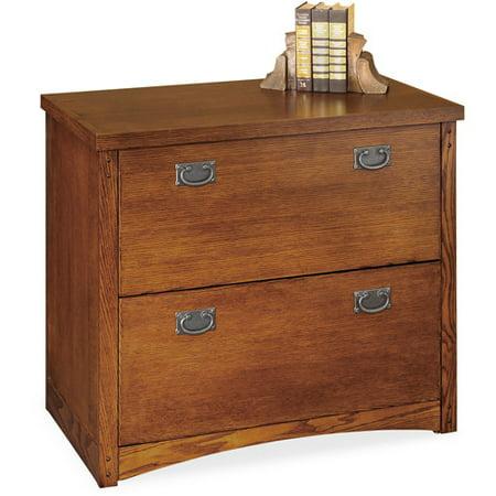 Mission 2 Drawer Lateral File Cabinet  Oak