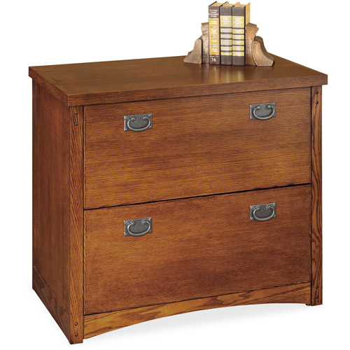 Mission 2-Drawer Lateral File Cabinet, Oak