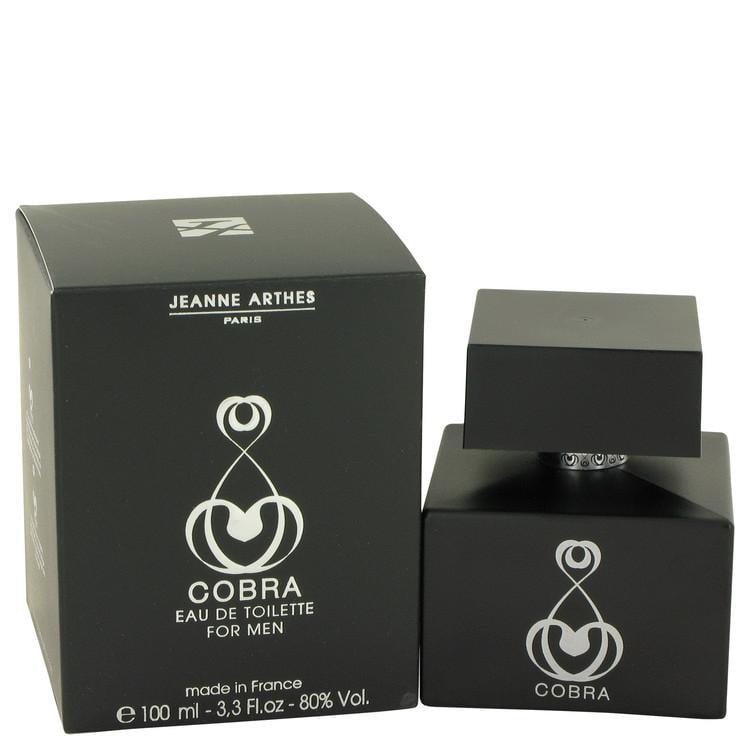 Cobra by Jeanne Arthes Eau De Toilette Spray 3.3 oz for Men