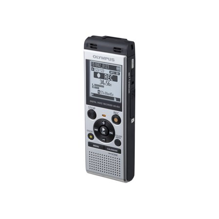 Olympus WS-852 - Voice recorder - 250 mW - 4 GB - display: 1.61 (Olympus Digital Voice Recorder Vn 4100pc Driver)
