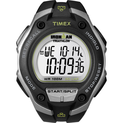 Timex Men's Ironman Classic 30 Oversized Watch, Black Resin Strap by Timex
