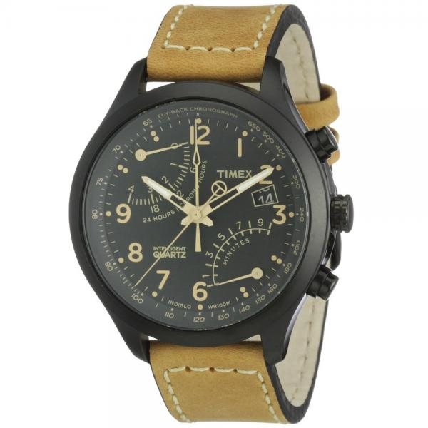Timex Intelligent Quartz Flyback Chronograph Gunmetal Ion ...