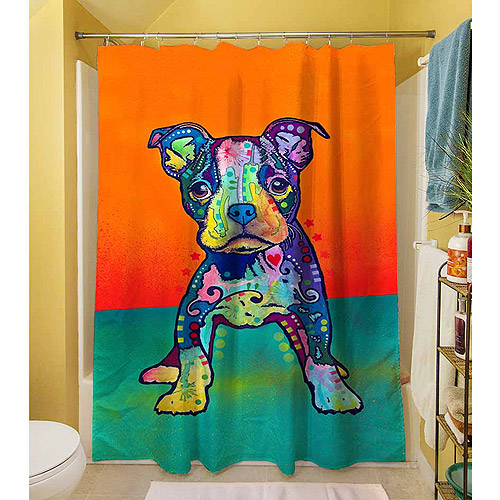 "Thumbprintz On My Own Shower Curtain, 71"" x 74"""