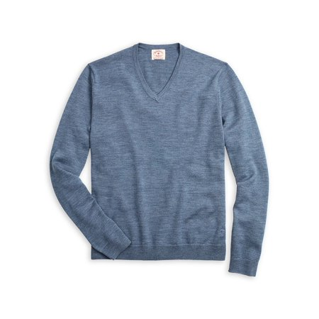 Heathered Merino Wool Sweater Brooks Brothers Cotton Sweater