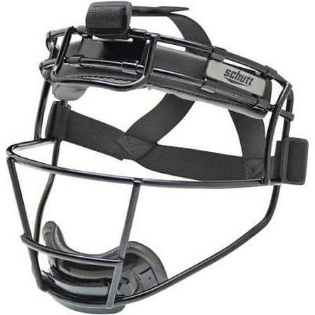 Schutt 122150CC Softball Fielder's Protective Face Mask, YOUTH, Black (Schutt Youth Polyester)