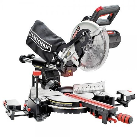 Craftsman 10 Single Bevel Sliding Compound Miter Saw (Hitachi 10 Inch Sliding Compound Miter Saw)