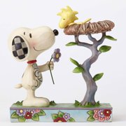 Jim Shore Peanuts 4054079 Snoopy Snoopy with Woodstock in Nest New 2016 by Enesco
