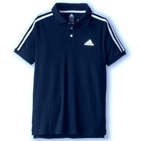 Adidas Boys Performance Polo's Short Sleeved Shirts (Small (8),