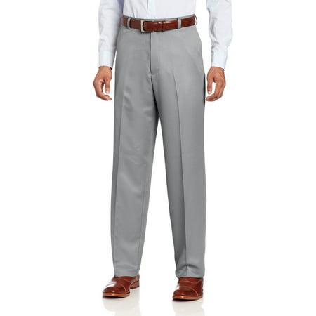 IZOD NEW Gray Mens Size 32X30 Microsanded Dress Flat Front Golf