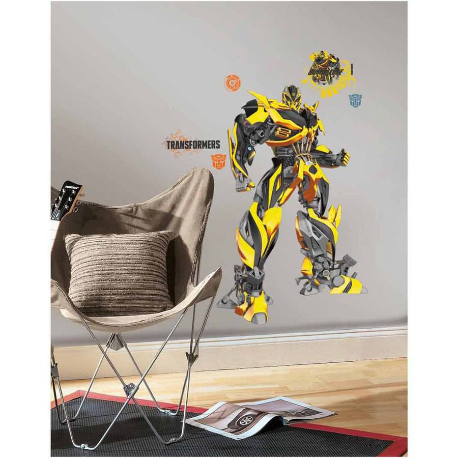 Transformers Age of Extinction Bumblebee Giant Wall Decals
