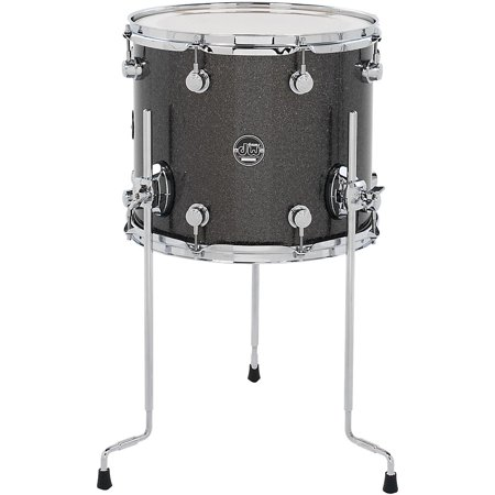 DW Performance Series Floor Tom Pewter Sparkle 14 x 12