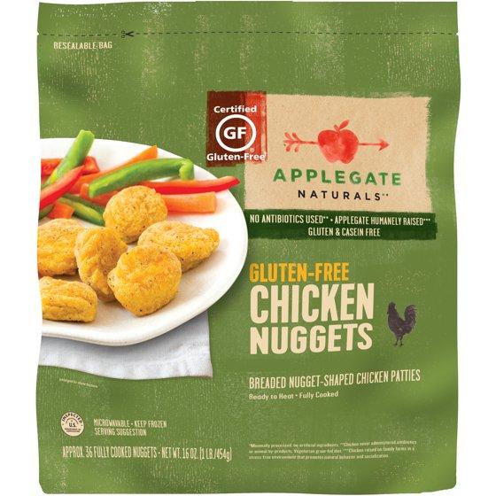 Applegate Naturals Gluten Free Chicken Nuggets 160 Oz Walmart